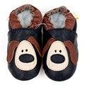 Детская Обувь Девушки Сначала Ходунки Мягкой Подошвой Детская Обувь Кожаные Детские Мокасины Животных Ребенок Мальчик Обувь Non-slip Тапочки Bebes 0-4y