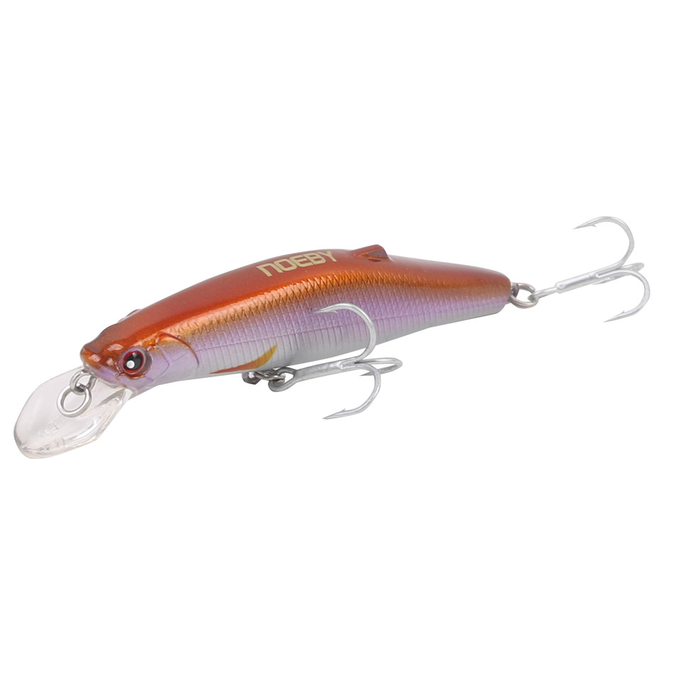 NOEBY Minnow 80mm/24.5g Fishing Lures Sinking0.3-1.0m Leurre Dur Peche Hard Baits Souple Shad with France VMC hook noeby nbl9062 fishing lures 66g 140mm pencil sinking leurre peche mer brochet hard fishing bait