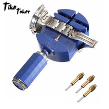 TIke Toker New Arrvial!!! Watch Link For Band Slit Strap Bracelet Chain Pin Remover Adjuster Repair Tool Kit 28mm For Men/Women все цены