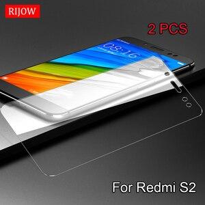 Image 5 - 2 adet cam Xiaomi Redmi için S2 9 temperli cam Redmi 6 6A Pro ekran koruyucu Xiaomi Redmi S2 koruyucu film cam 7 7A 8A 10X