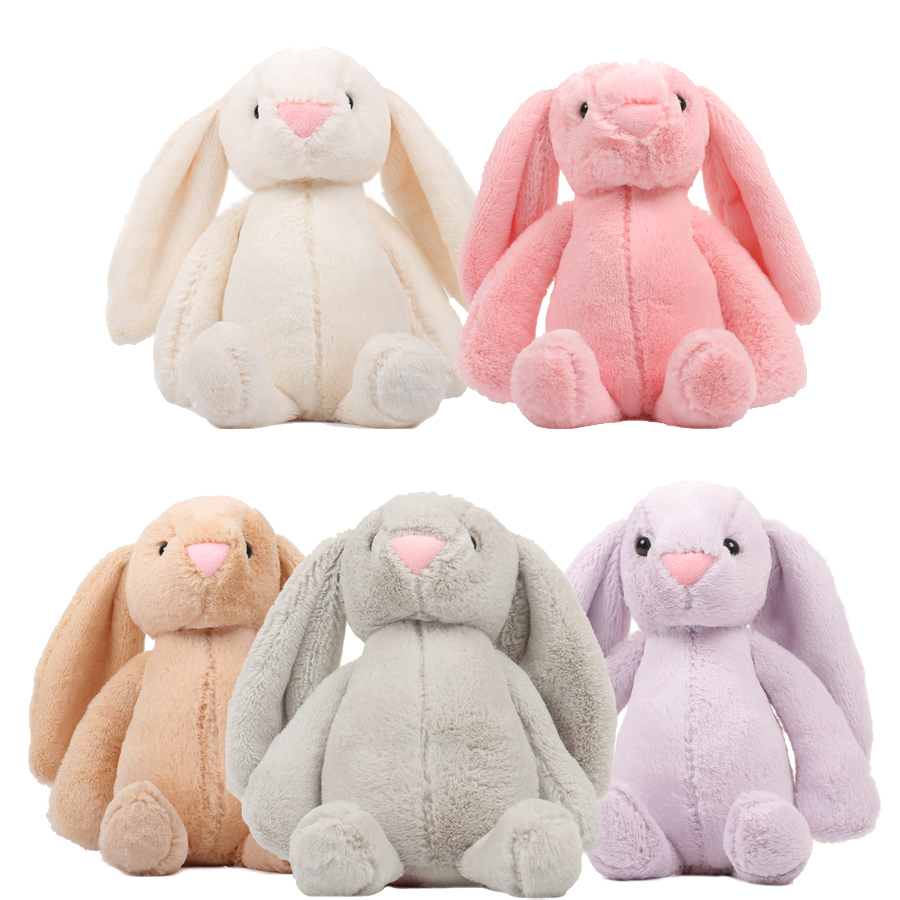 Hot Sale 25/30/45/60cm Baby Plush Toys Rabbit Sleeping Comfort Doll Smooth Obedient Rabbit Soft Sleep Calm Doll