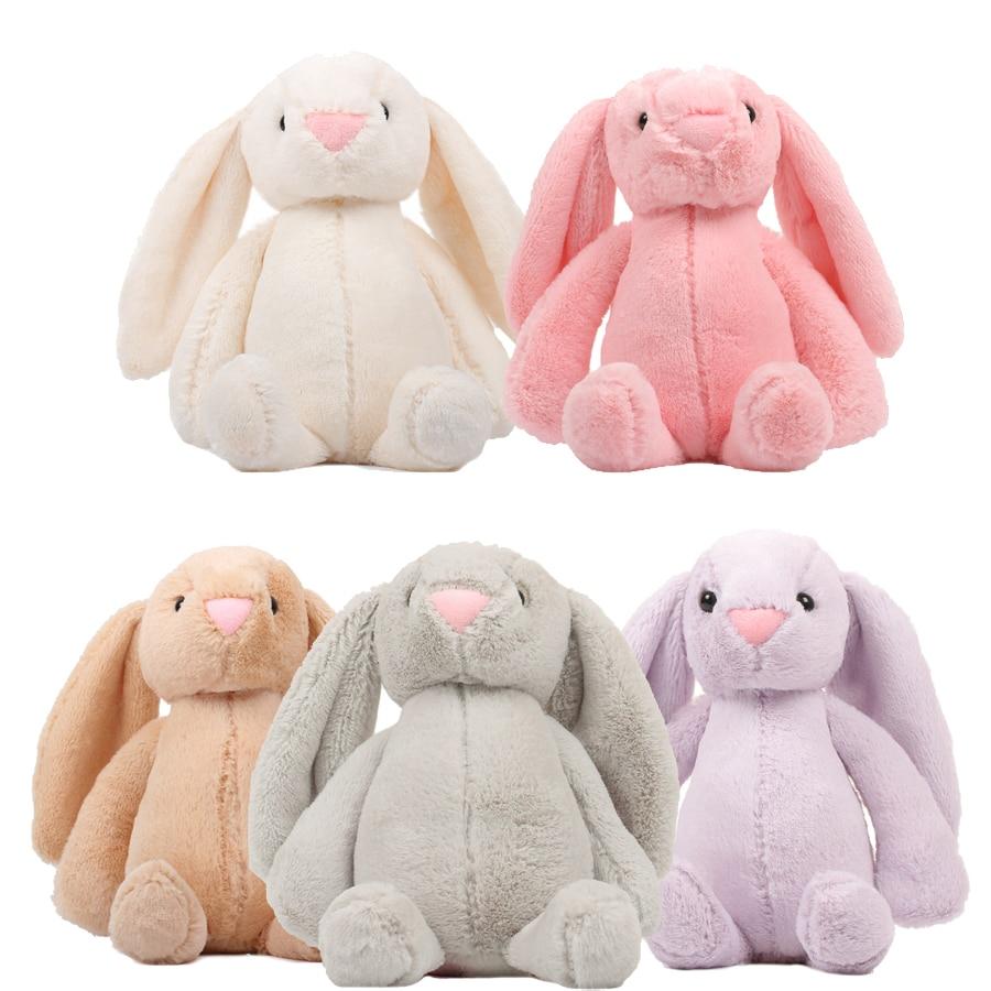 Hot Sale 25/30/45/60cm Baby Plush Toys Rabbit Sleeping Comfort Doll Smooth Obedient Rabbit Soft Sleep Calm Doll