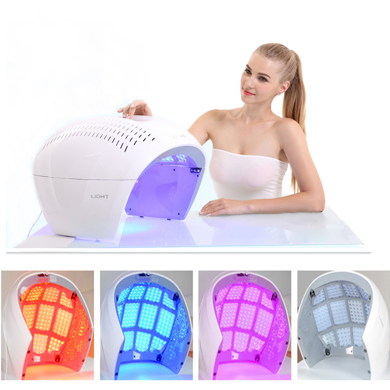 LED PDT Facial Mask Photon Light Energy Therapy Lamp Facial Care Beauty Machine Skin Rejuvenation Anti Aging Acne Wrinkle Remove