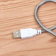 Desk keyboard lamp Flexible Iron Chain USB Led Light Table Night-light USB Gadget Desk Read Night Light For Xiaomi Power bank 10