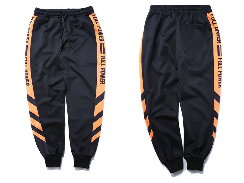 Striped Patchwork Harem Pants 4