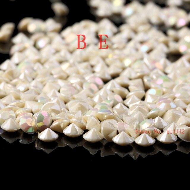 10000pcs Lot 6mm Pearl Ab Acrylic Diamond Confetti Table Ter For Wedding Bridal Show