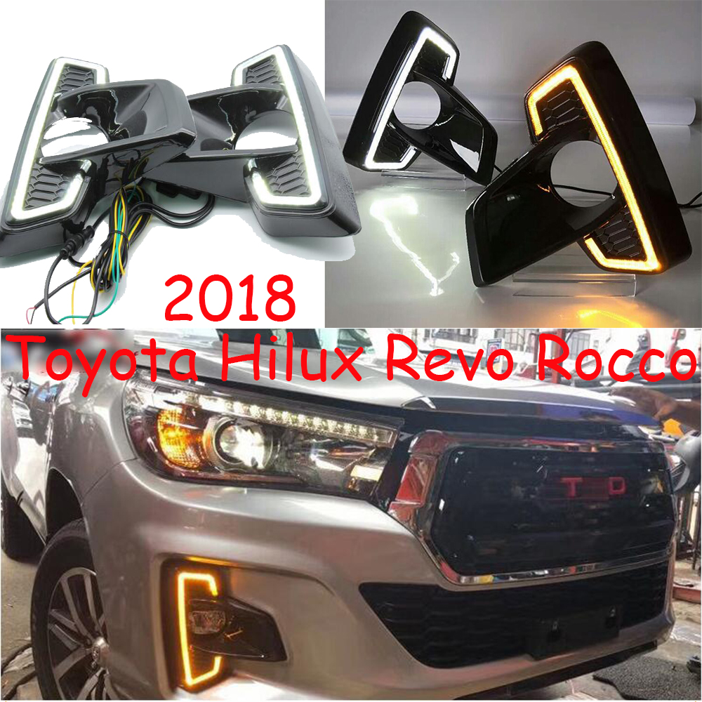 2018 Hilux daytime light,LED,Recco,revo;hiace,seinna,car accessories,motorcycle,hilux fog light 2015 2017 car wind deflector awnings shelters for hilux vigo revo black window deflector guard rain shield fit for hilux revo
