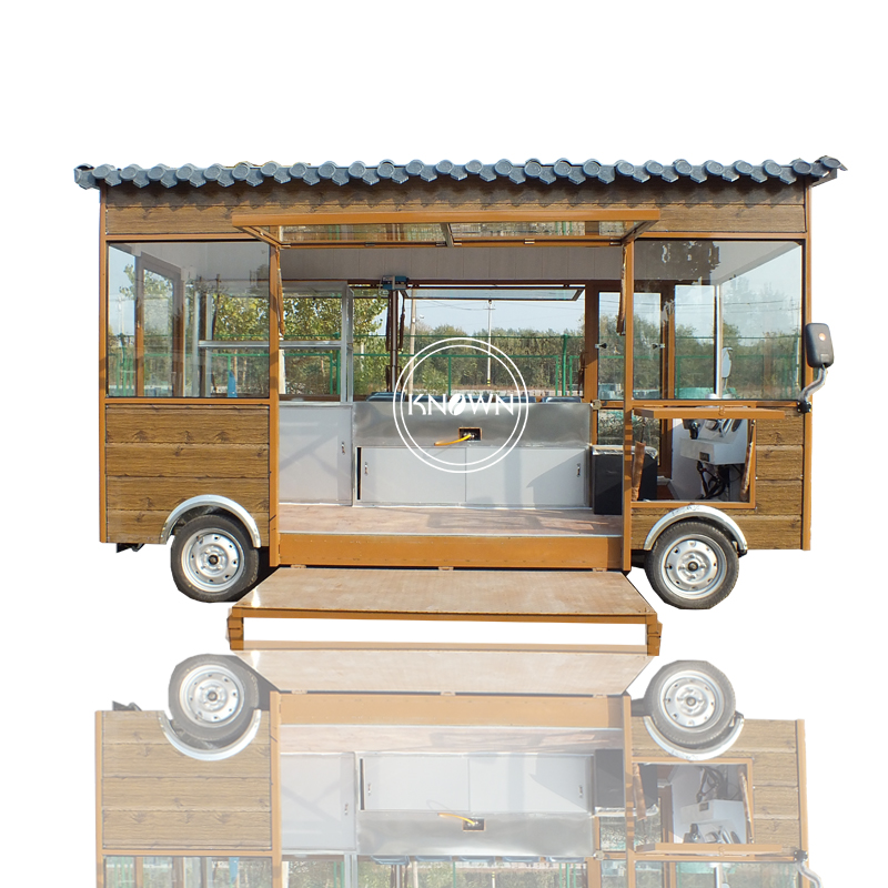 2019 New Design 3m Long Electric Food Truck Fast Food Mobile Kitchen Trailer Jewelry Kiosk Hotdog Food Cart