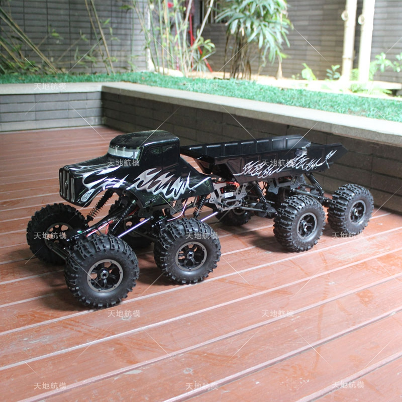1/10 scale RC 8WD 8X8 Rock Crawler Truck RTR MT1012 Electric Climbing car  8 Drive Wheels crash bar mt 09