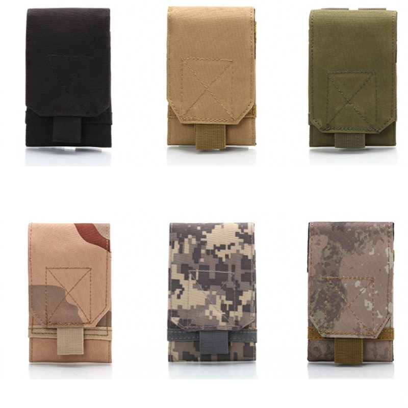 Mounchain Universal Outdoor Multi Function Army Tactical Portable Waterproof 600D Nylon Mobile Phone Pouch Holster Case Bag Belt