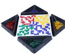 The Strategy Game Blokus Board Game Educational Toys 484 Squares Game Easy To Play For Children Russian Box Series indoor games