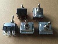 Import France APR big toggle switch 9 feet 2 files lock shake head rocker toggle power switch 20A250V 20A 250V