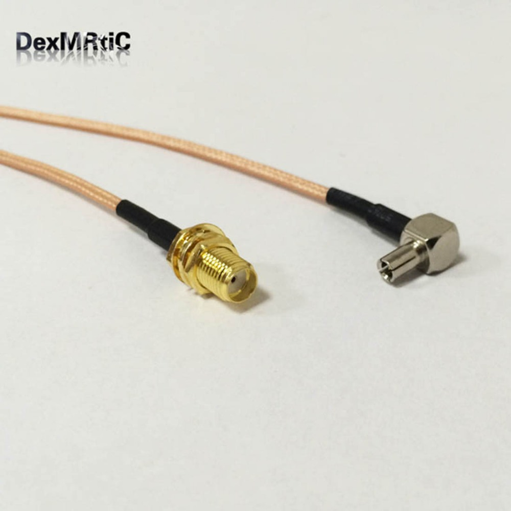 RF Pigtail SMA Female To TS9 male Connector RG316 Coaxial Cable SMA ...