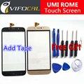 Umi Roma pantalla táctil + Herramientas Set de Regalo 100% Original Ensamblaje del panel de cristal Digitalizador Reemplazo para el teléfono celular