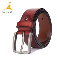 CNYANGCHENG Male Genuine Leather Strap Belt Buckle Cummerbunds Luxury Belts For Men Designer Belts Men