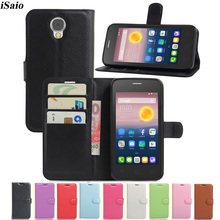 Funda abatible tipo cartera para Alcatel One Touch 5010D Pixi 4 5