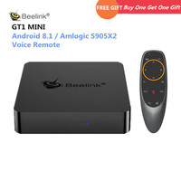 Beelink GT1 MINI GTmini A Smart TV Box Android 8.1 Amlogic S905X2 Voice Remote Set Top Box 4K 1000M Bluetooth Media Player