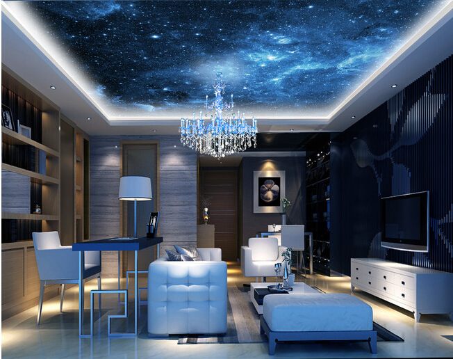 Compare prices on universe wallpaper online shopping buy for Universe wallpaper for bedroom
