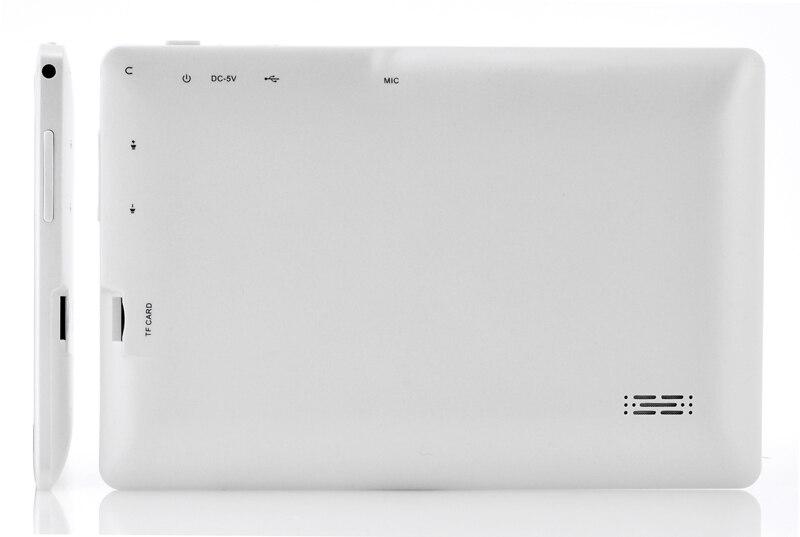 Vente en gros-livraison gratuite 7 pouces Q88 tablette pc double caméra Android 4.2 A23 7 pouces tablette PC double coeur CPU, caméra, 4 GB - 4
