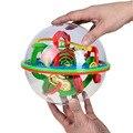 BOHS 100 Passos Pequeno Tamanho Grande Labirinto 3D Magic Rolling Globo Bola Mármore Enigma Cérebro Teaser Do Jogo Cubos Esfera Labirinto