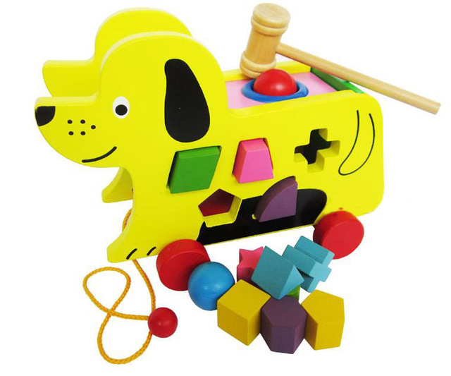 Toys For A 9 Month Old : Trailer toy baby wooden toys children educational toys months to