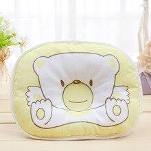 Organic Baby Pillow Newborn Bear Shape Pillow Cotton Baby Sleeping Pillow Baby Weeping Willow Soft Newborn Shape Pillow