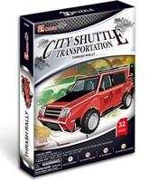 DIY TOY 3D Puzzle Toy CubicFun Paper Model Jigsaw Game DIY Toy Super Car Model Thrash