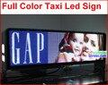 Из светодиодов такси полноцветный экран, 960 мм * 320 мм, Широкий угол обзора, 5 мм 9smd высокое ясно такси знак, 5 м - 100 м, 192 * 64 пикселей