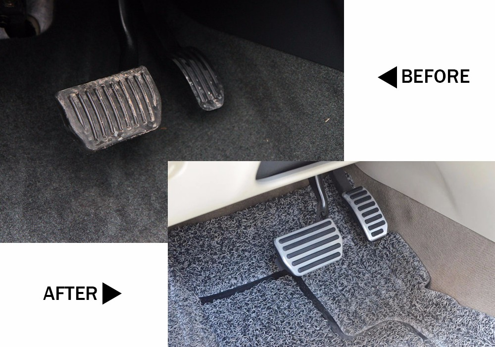 DEE алюминиевые автомобильные аксессуары для VOLVO XC60 S60 S80L S60L V60 V70 на акселераторе газа ног модифицированные педали