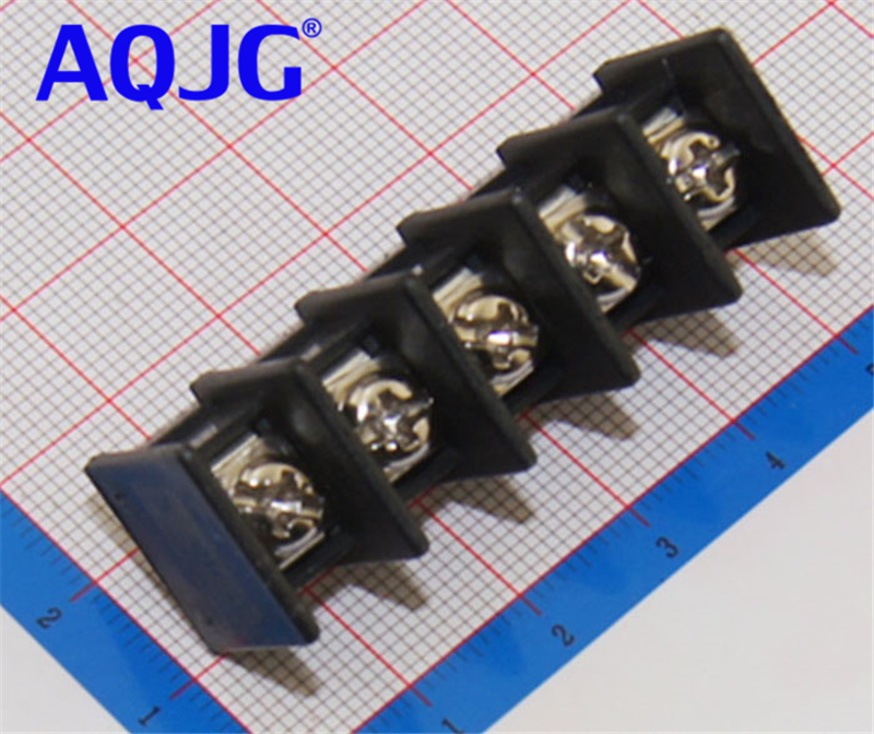 50PCS Universal Screw Terminal Blocks Connector 2p/3pin 4pin pitch 9.5mm pcb screw block Splice connector terminal WJ45C-B-9.5 high quality 10 sets ht5 08 2 3 4 5 6 7 8pin terminal plug type 300v 10a 5 08mm pitch connector pcb screw terminal block