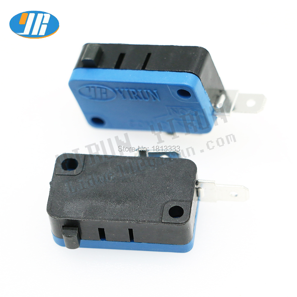 100PCS Arcade Button Micro Switch 4.8mm Terminal Microswitch Arcade DIY Kit Game Machine Start B accessories(China)