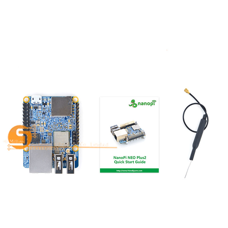 NanoPi NEO Plus2 H5 Gigabit IoT Development Board WiFi Bluetooth