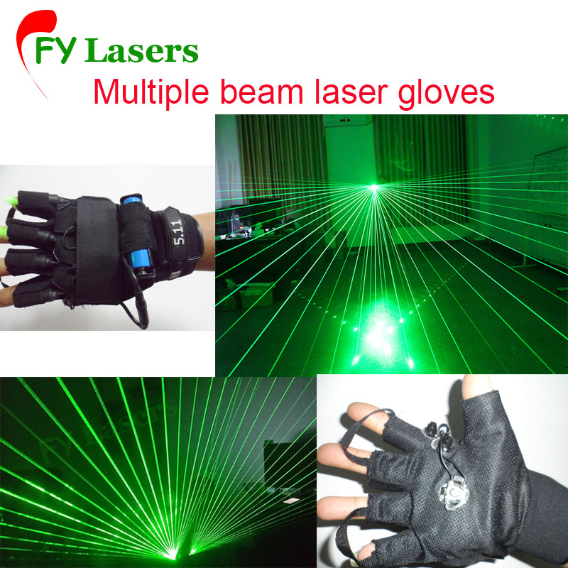 Hot sell Party Laser Gloves laser Green Gloves Stage Show LED Dance DJ Club hot sell 10 unit black light stage uv light uv lamp e40 400w hqv400 laser dancing hand shadow dance for theater party concert