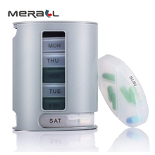 7 Days Weekly Pill Box Storage Organizer Container Pill Case For Each Day Medical Drugs Dispenser Holder Health Care Tool