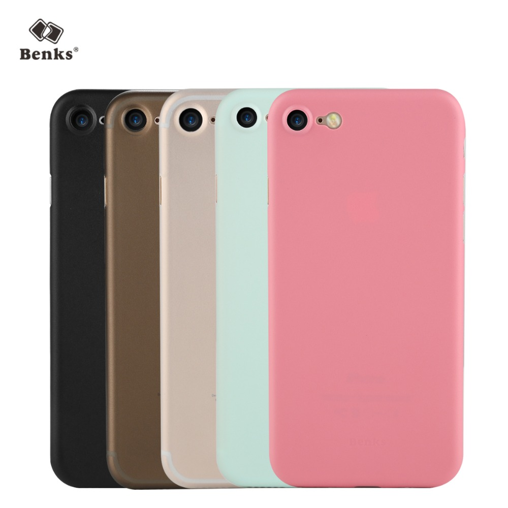 Benks LOLLIPOP 0.4mm PP Funda para iPhone 7 y iPhone 7 Plus Funda - Accesorios y repuestos para celulares - foto 1