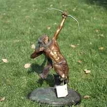 Archery bronze Indians European sculpture handicraft decoration Home Furnishing art world