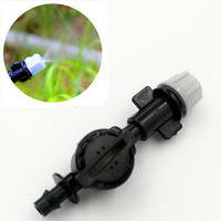 Mist Nozzle Sprinkler With Antidrip For Micro Greenhouse Irrigation Fitting Misting Sprinkler M119