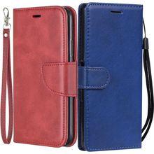 Luxury Flip Phone Case sFor Funda LG Stylo 4 G6 G7 G8 G8S V50 ThinQ K8 K10 2018 Single Color Retro Coque Stand Covers Capa DP07F