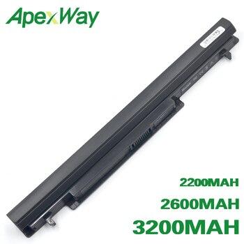 ApexWay Аккумулятор для ноутбука ASUS A31-K56 A32-K56 A41-K56 A46C A46CA A46CB A46CM A46V A56C A56CA A56CB A56CM A56V