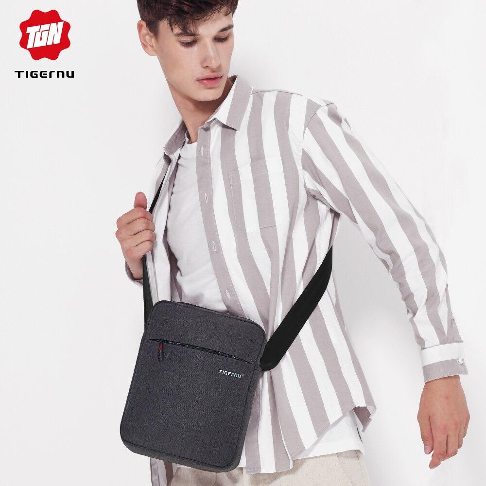 Tigernu Brand Men Messenger Bag High Quality Waterproof Shoulder Bag For Women Business Travel Crossbody Bags Sling Bag Casual