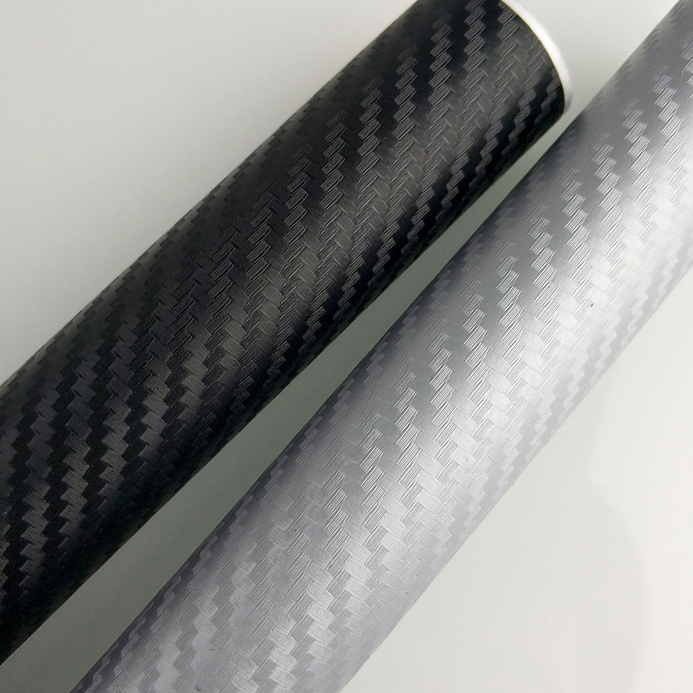FEELWIND 127CMx30CM  Carbon Fiber Vinyl Film Car Sticker Waterproof DIY   Styling Wrap Roll    for Peugeot 206 307  208 308 aigh07xt4du touch glass panel 7 compatible