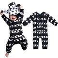 Children gentleman Romper leotard covered cross printing bb newborn Baby clothing Baby boys bodysuits Placket front Big pockets
