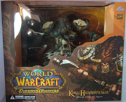 WOW MONDO KORG HIGHMOUNTAIN GIOCATTOLO TAUREN HUNTER ACTION FIGURE Anime Figure Da Collezione Model Toy No Box