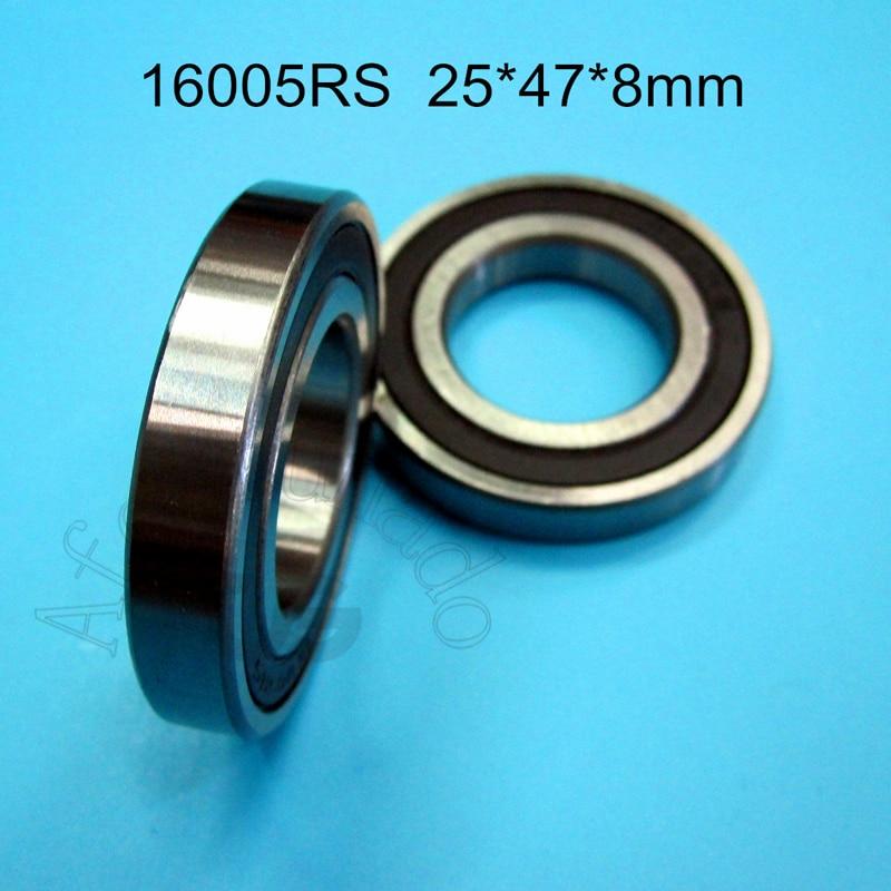 16005 open deep groove ball bearing 25 x 47 x 8 mm radial bearings