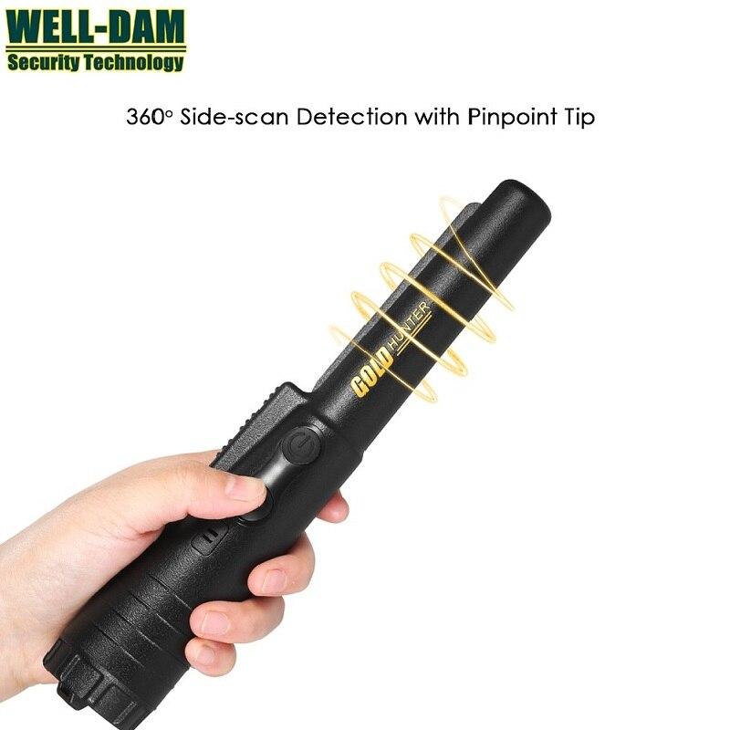 CSI Pinpointing metal detector gold hunter pinpointer gold metal detector Static alarm with Bracelet