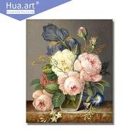 Hua Art Diamond Painting Mosaic Cross Stitch New Full Diamond Flower Bedroom Painting DIY Stickers 5D