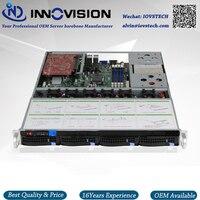 Stable Huge Storage 4 Bays 1u Hotswap Rack NVR NAS Server Chassis S16504