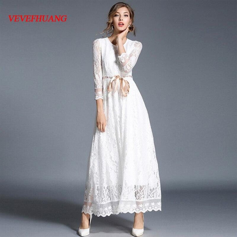 Dames robe solide blanc robe ruban ceinture femme automne tenue décontractée