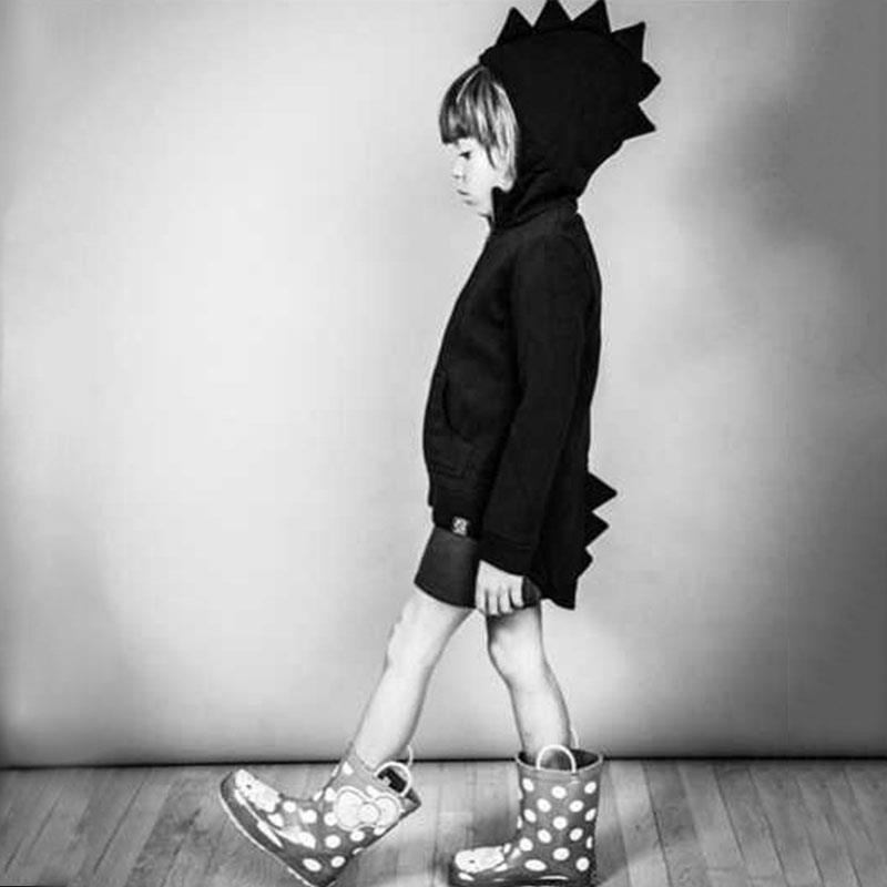 Ephex jongens hoodies punk baby kid sweatshirt cartoon dinosaurus - Babykleding - Foto 3