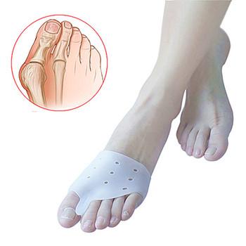 1 para palucha koślawego ortezy silikonowe palce Separator duży palec korektor Bunion codziennego użytku narzędzie ortopedyczne Pad tanie i dobre opinie Szelki i obsługuje CARETEK Kości Opieki Medical Grade Silicone